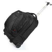 SWISSWI瑞士十字拉杆包大容量女拉杆箱男登机箱行李箱旅行箱拉杆包小拖包商务笔记本电脑双肩背包防水防震14寸15.6寸17.3寸SW092806