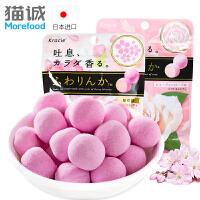 日本进口糖果 kracie玫瑰香味糖果32g 香丸型软糖 糖果零食