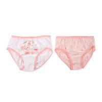 迪士尼 棉婴幼儿童男女内裤 2条装 四季款