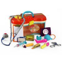 美国B.Toys儿童医生玩具套装女孩过家家玩具仿真医药箱玩具3岁+