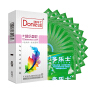 多乐士避孕套新版梦幻缤纷色彩系列1盒 安全套共12只(进口版) 6色盛宴 情趣成人用品