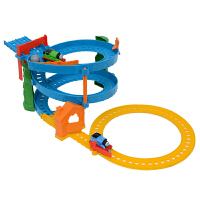 [当当自营]托马斯和朋友 合金火车系列 旋转赛道套装 儿童塑胶轨道玩具 BHR97