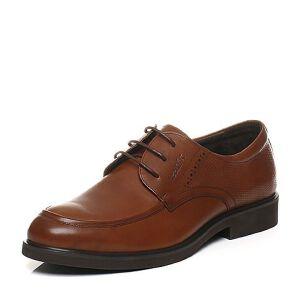 Teenmix/天美意春专柜同款牛皮商务英伦风德比鞋男单鞋男鞋1UO0TAM6