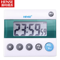 汉时钟表 电子倒计时器精工TIMER 厨房定时器提醒器闹钟 HT29  此款计时器铃声约为70-80分贝,测试仪器、测试环境均会 导致分贝值有偏差,以上数据仅供参考