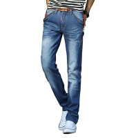 1号牛仔  男士新款时尚休闲牛仔裤百搭男长裤