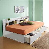 百意空间定制环保多功能 带抽屉床 储物床 小户型床 日式榻榻米 双人床 单人床1.2米 1.5m