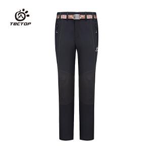 TECTOP探拓户外速干登山长裤防水保暖吸湿排汗快干透气修身