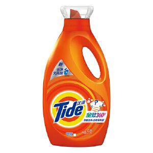 [当当自营] 汰渍 全效360度洗衣液洁雅百合香型 2kg
