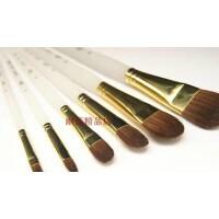 老人头透明磨沙杆狼毫水粉笔A835 水粉水彩油画丙烯画笔