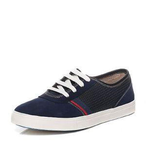 Teenmix/天美意夏季专柜同款简约学院风男休闲鞋1WN02BM6