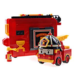 [当当自营]Silverlit 银辉 POLI系列 罗伊便携式消防车套装 SVPOLI83073STD