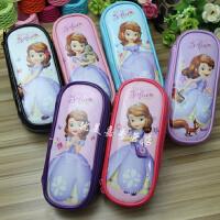 正品Disney/迪士尼小公主苏菲亚 儿童笔袋文具袋 学生文具盒 笔袋