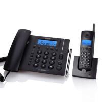 【当当热销】步步高 w163 无绳电话机 座机电话 无绳子母电话机 时尚欧式 家用办公 来电显示 蓝色白色