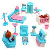 星月 甜甜家具过家家41件套 儿童厨房做饭玩具套装 女孩3-6岁