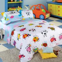 多喜爱家纺 全棉四件套床上用品纯棉儿童卡通床品套件丽丽牛