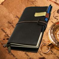 【众凡原创】真皮活页记事本子复古牛皮日记旅行手账文具