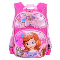 迪士尼 卡通苏菲亚公主小学生书包 儿童双肩背包 SS80045