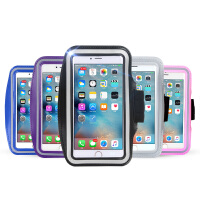 GXI 跑步手机臂包 手机防水袋游泳防水包 苹果6Splus运动臂套旅游手机袋手腕包男女健身装备