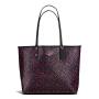 【当当自营】蔻驰(COACH)新款时尚女士碎花手提包购物袋斜挎女包 F59441