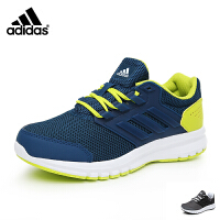 阿迪达斯adidas童鞋17秋季男童跑步鞋大童跑鞋 防滑减震儿童运动鞋休闲鞋 蓝色(11-15岁可选) BY2809 BY2810