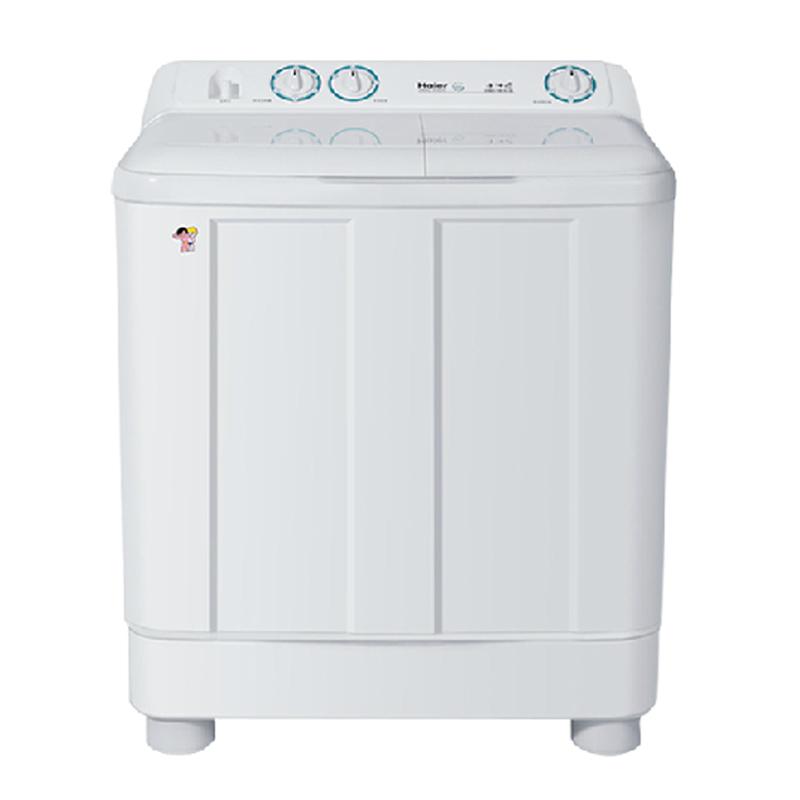 海尔半自动洗衣机拆卸图解