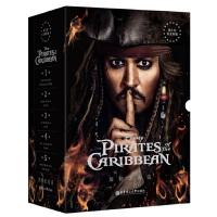 加勒比海盗1-5部(套装共5册)