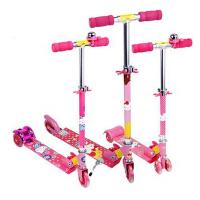 四轮滑滑车三轮加宽闪光踏板车儿童滑板车