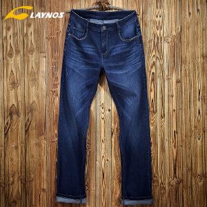 雷诺斯2016春季热卖 男装男女时尚直筒休闲牛仔裤
