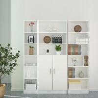 百意空间 书柜 书架 简约现代带门 特价柜子 储物柜 自由组合 柜置物 小柜子 书房家具
