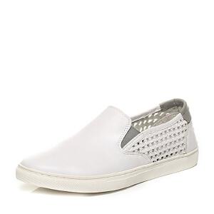Belle/百丽专柜同款夏季时尚休闲男单鞋4KV01BM6