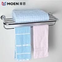 MOEN/摩恩 泰勒系列铜质五层镀铬 双层毛巾架 浴巾架 90028