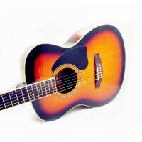 Jackson  吉他 38寸 民谣吉他 民谣吉他  吉他 初学 入门  亲民价位 (两色可选哦:原木色 太阳色)DG-12 (*品:背包+《即兴之路》+CD+扳手+拨片+一弦+背带)