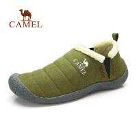 camel骆驼户外徒步鞋 秋冬日常出游 男女情侣款 套筒保暖徒步鞋