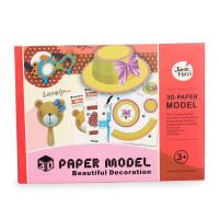 西班牙 美乐Joan Miro 儿童3D纸膜馆 儿童手工折纸/剪纸制作书