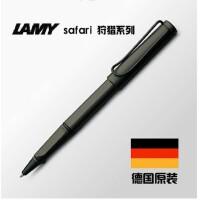 德国LAMY/凌美笔safari狩猎者磨砂黑宝珠笔/签字笔 走珠笔