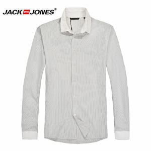 杰克琼斯 秋季 男士长袖衬衫 衬衣19-2-1-213105007023