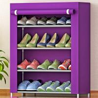 索尔诺 4层简易鞋架 鞋柜 防尘防潮自由组装 层架收纳柜 收纳箱 收纳盒 鞋橱04C