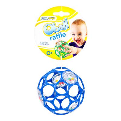 [当当自营]Bright Starts Oball 奥波小号软球摇铃 随机颜色发货 婴儿玩具 B81031【当当自营】智体训练玩具,适合0-36个月婴幼儿