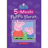 粉红猪小妹系列【现货】英文原版童书 Five-Minute Peppa Stories 五分钟粉红猪小妹的故事 小猪佩奇
