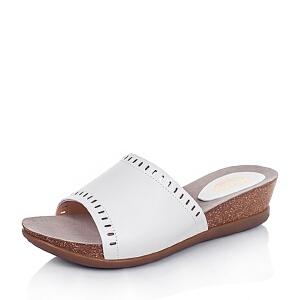Bata/拔佳夏季牛皮简约时尚女鞋(超软)AB410BT6