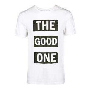 杰克琼斯/JackJones时尚百搭新款T恤 大字母--39-5-1-216201064023