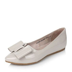 BASTO/百思图春季专柜同款牛皮女浅口单鞋16A11AQ6
