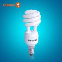 OSRAM欧司朗节能灯螺旋型11W/E14/827黄光/865白光节能灯管家用光源