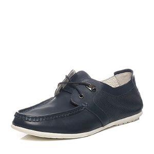 Teenmix/天美意夏季专柜同款牛皮舒适休闲男单鞋62X07BM6