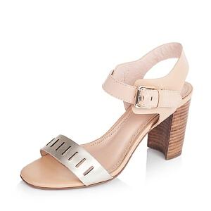 BATA/拔佳夏季专柜同款牛皮革女皮凉鞋71402BL6