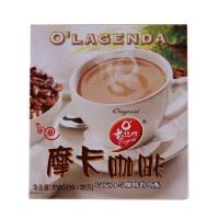 [当当自营] 马来西亚进口 老�I行 O Lagenda 摩卡咖啡 25g*10