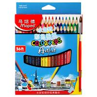当当自营Maped马培德 36色水溶性彩色铅笔 836019CH