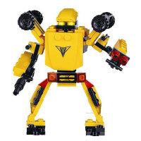 星钻积木 赛尔号积变战士益智拼装玩具变形机器人 黄蜂 擎天金刚 御天霸王  沙暴