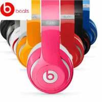 Beats Studio 2.0 录音师二代 Hi-Fi降噪 便携头戴式耳机/耳麦 可线控调节/麦克接听电话 魔声魔音耳机  苹果耳机 适用iPhone6 5S 4S、iPad Air mini iPod等【联保 带防伪码 赠煲音碟】