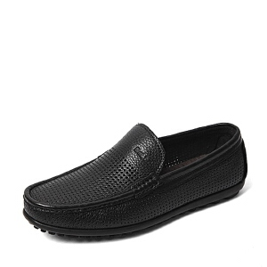 Belle/百丽夏季专柜同款牛皮革男皮鞋36F05BM6